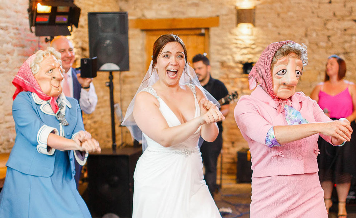 Bride goes gangnam