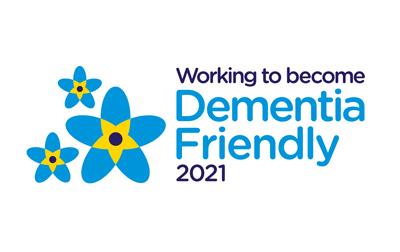 Dementia Friendly 2021 logo
