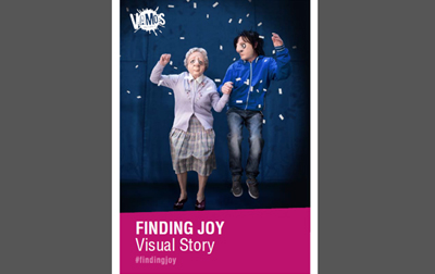 Finding Joy Visual Story