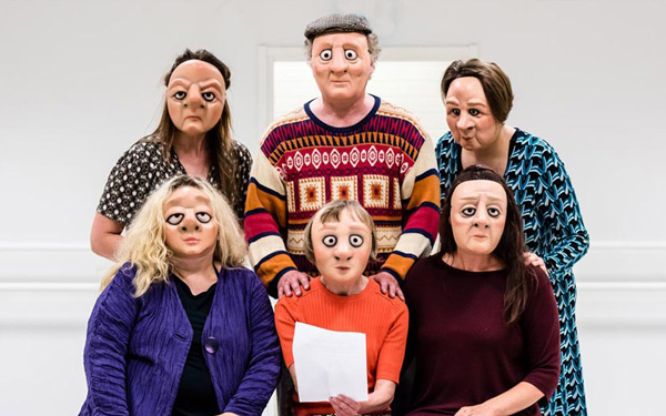 6 mask characters read a letter