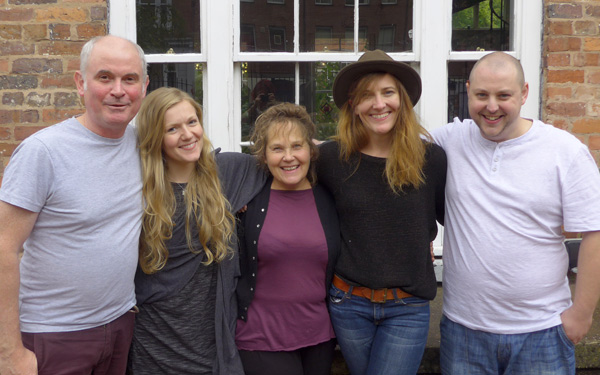 The Finding Joy cast and crew