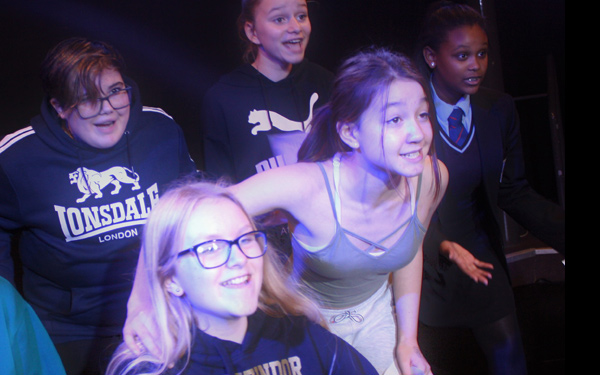 VYT members in rehearsal