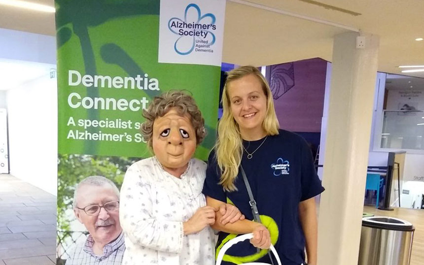 Carolyn from Alzheimer's Society