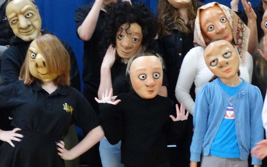 Students from Worcestershire Operatic Society