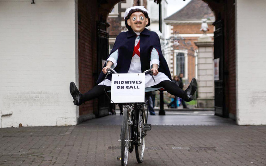 Midwife on a bike