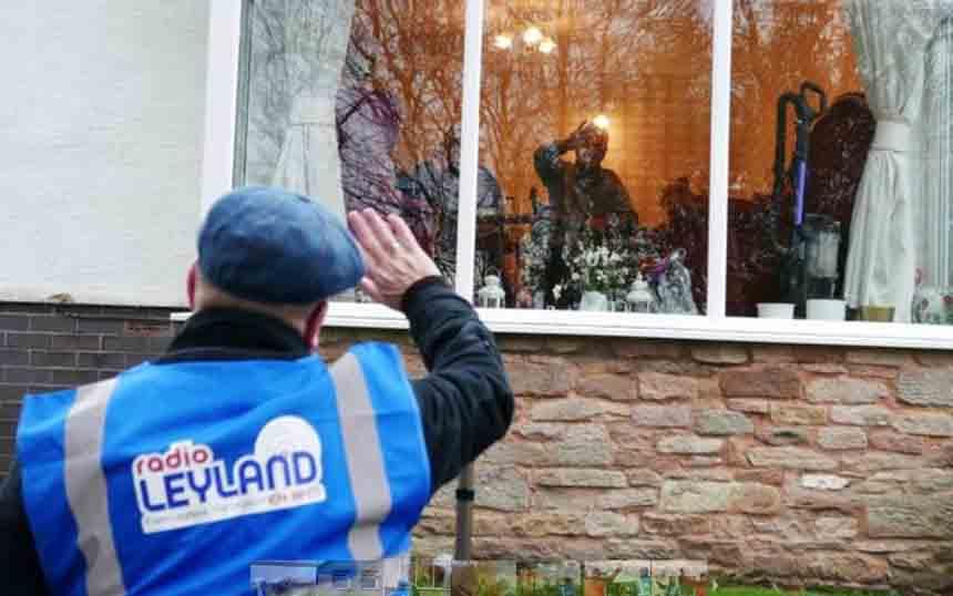 Radio Leyland helps The Wednesday Wave in style