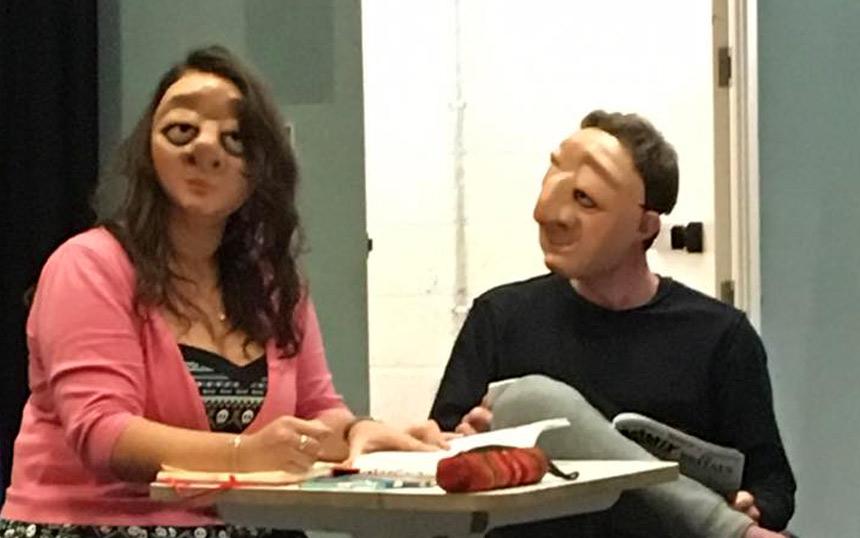 Vamos workshop sells out at London International Mime Festival