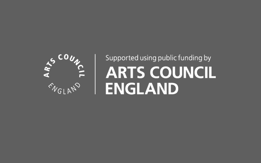 Arts Council England Grant Award logo
