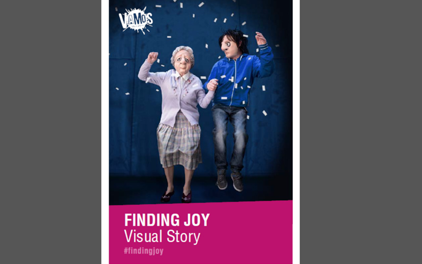 Finding Joy Visual Story Guide cover