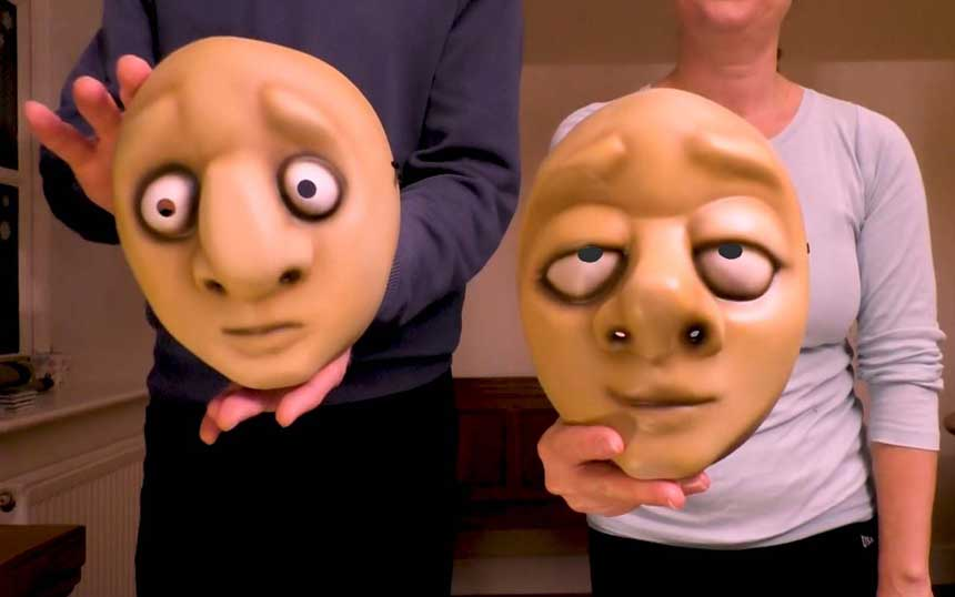 Showing masks on Zoom