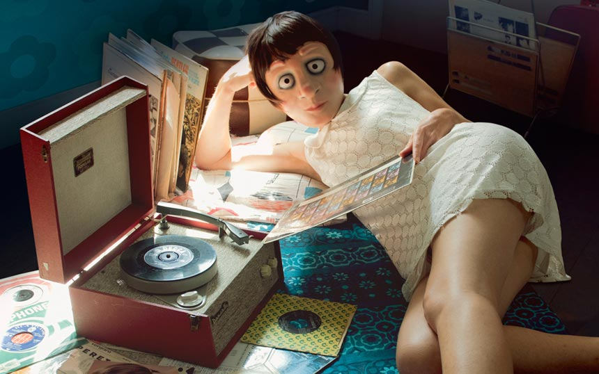 Susan and her record player
