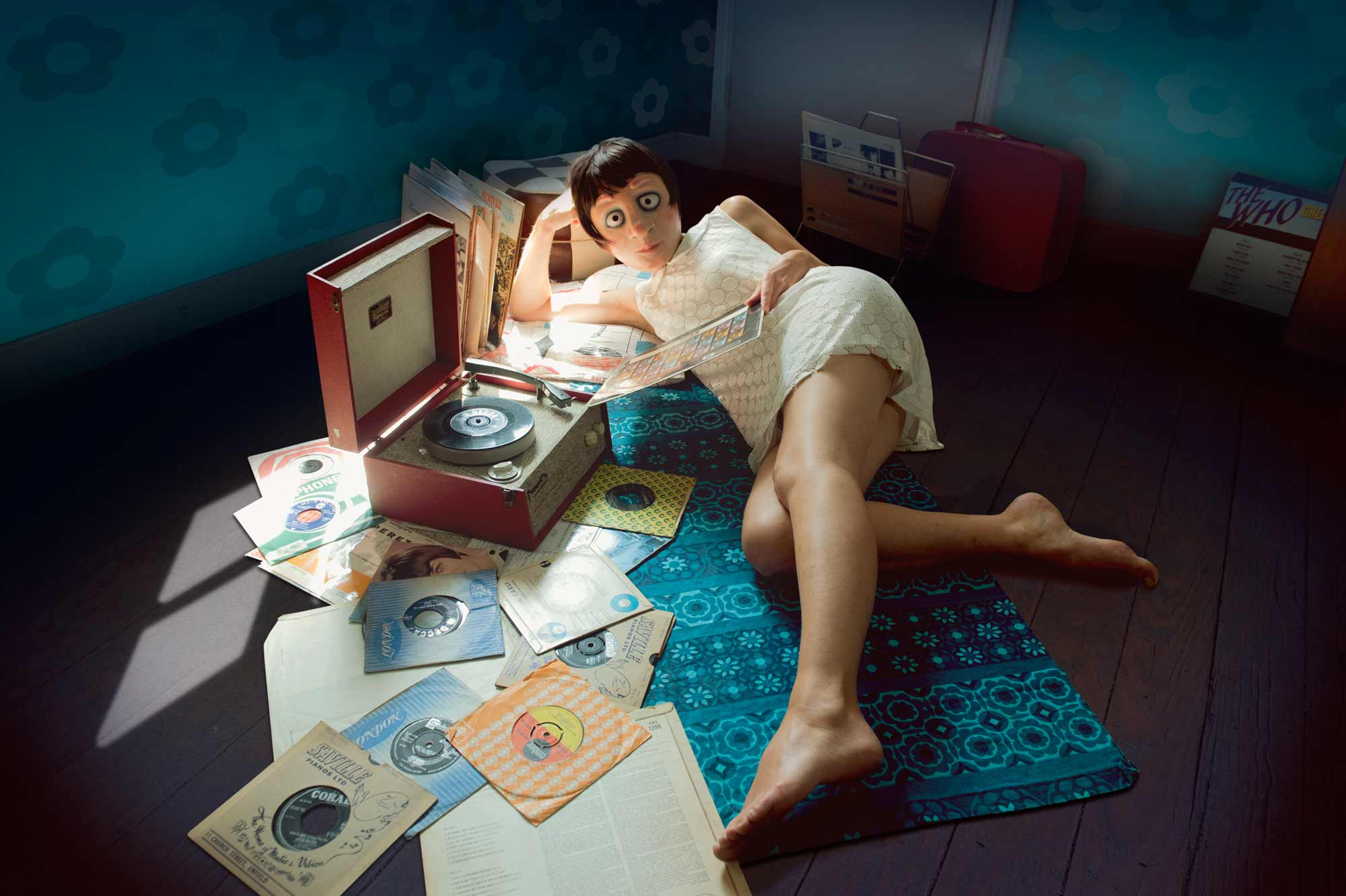 Susan and the record player