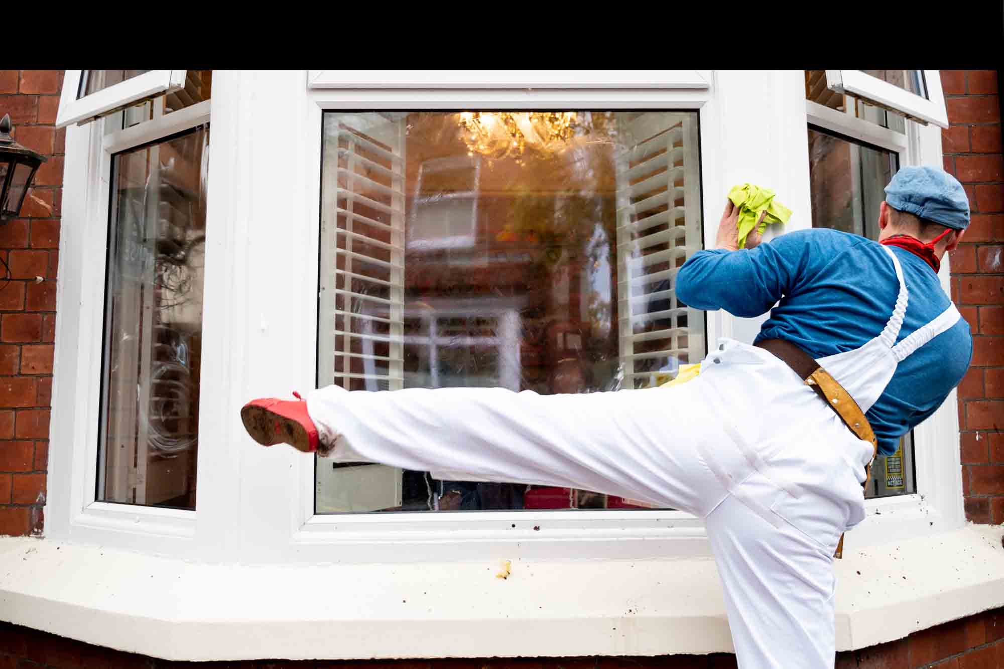 dancer at a window